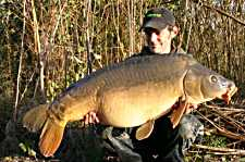 Martin Pick with his 43lb fish