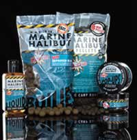 Marine Halibut Boilies and Pellets