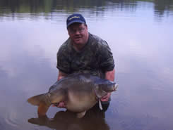 Peter Henery with his pb
